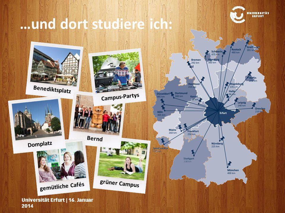 grüner Campus Universität Erfurt | 16.Januar 201416.