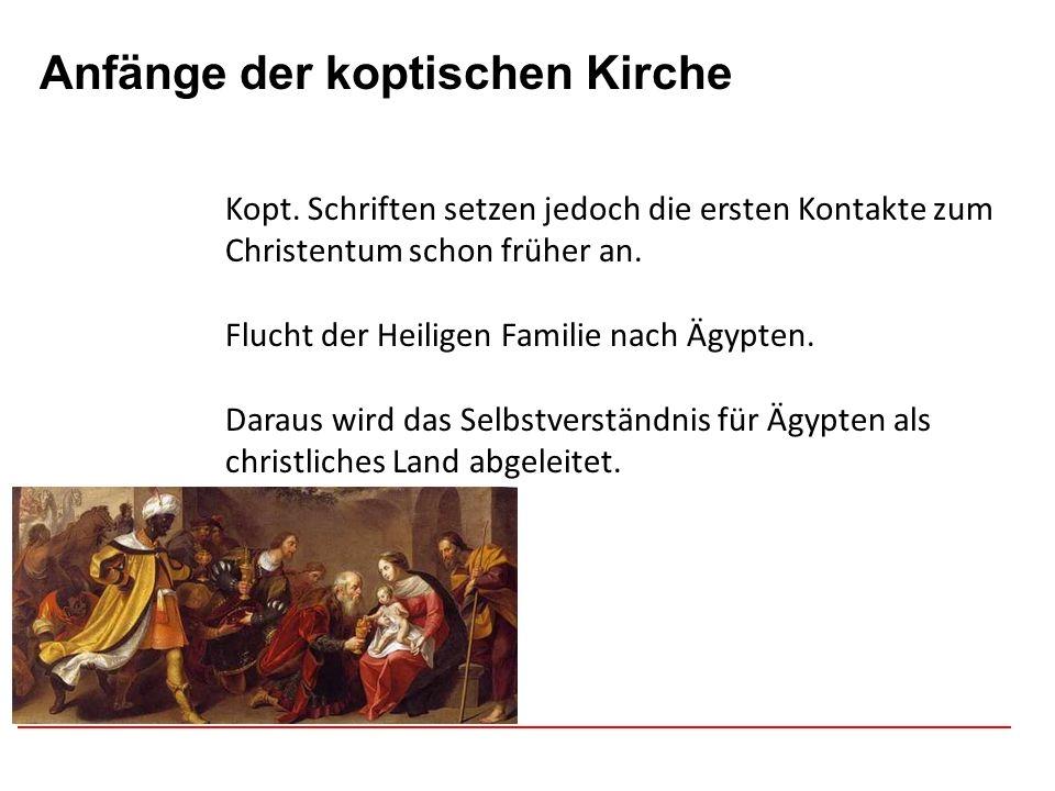 Afghanistan Anfänge der koptischen Kirche Kopt.Zeitrechnung beginnt mit dem Jahr 284 n.Chr.