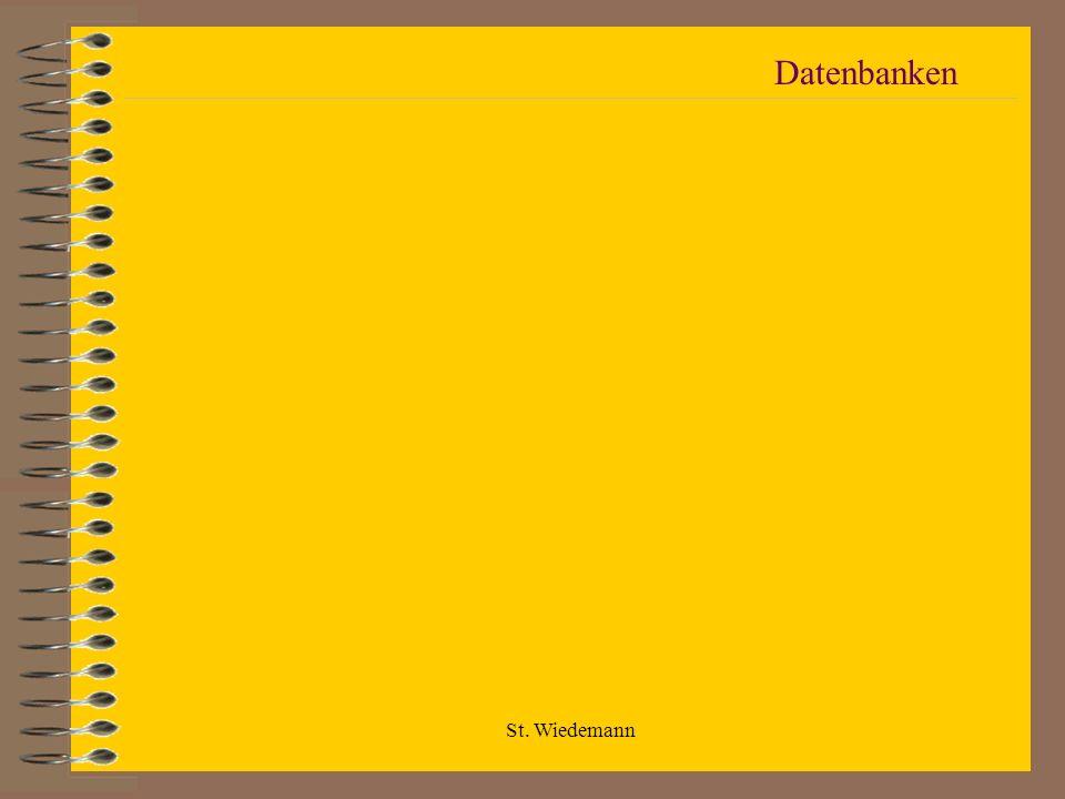 St. Wiedemann Datenbanken