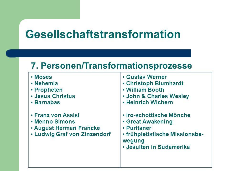 Gesellschaftstransformation 7.
