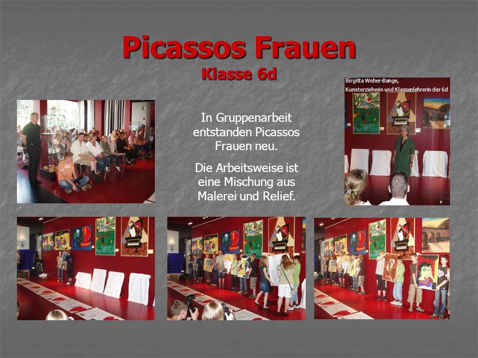 Picassos Frauen Klasse 6d In Gruppenarbeit entstanden Picassos Frauen neu.