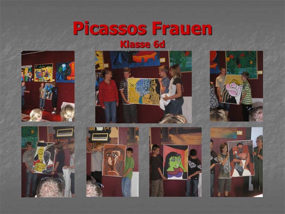 Picassos Frauen Klasse 6d