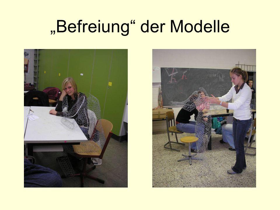 Befreiung der Modelle