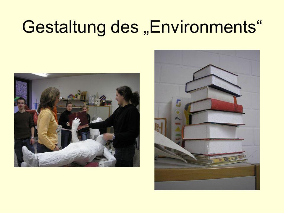 Gestaltung des Environments