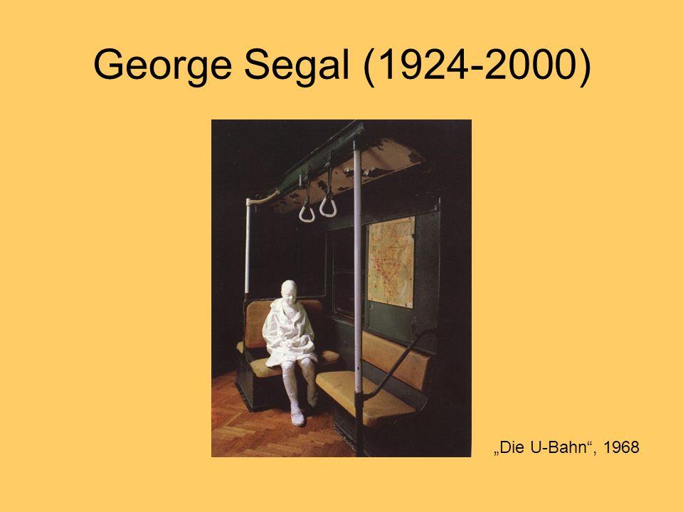 George Segal (1924-2000) Die U-Bahn, 1968