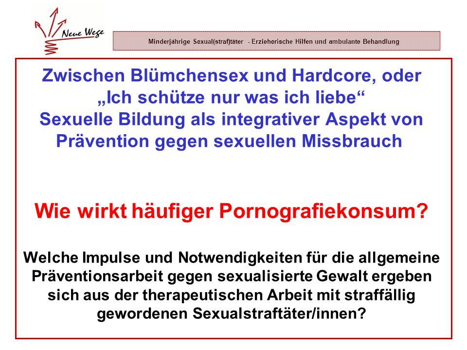 Zwischen Blümchensex und Hardcore, oder Ich schütze nur was ich liebe Sexuelle Bildung als integrativer Aspekt von Prävention gegen sexuellen Missbrau