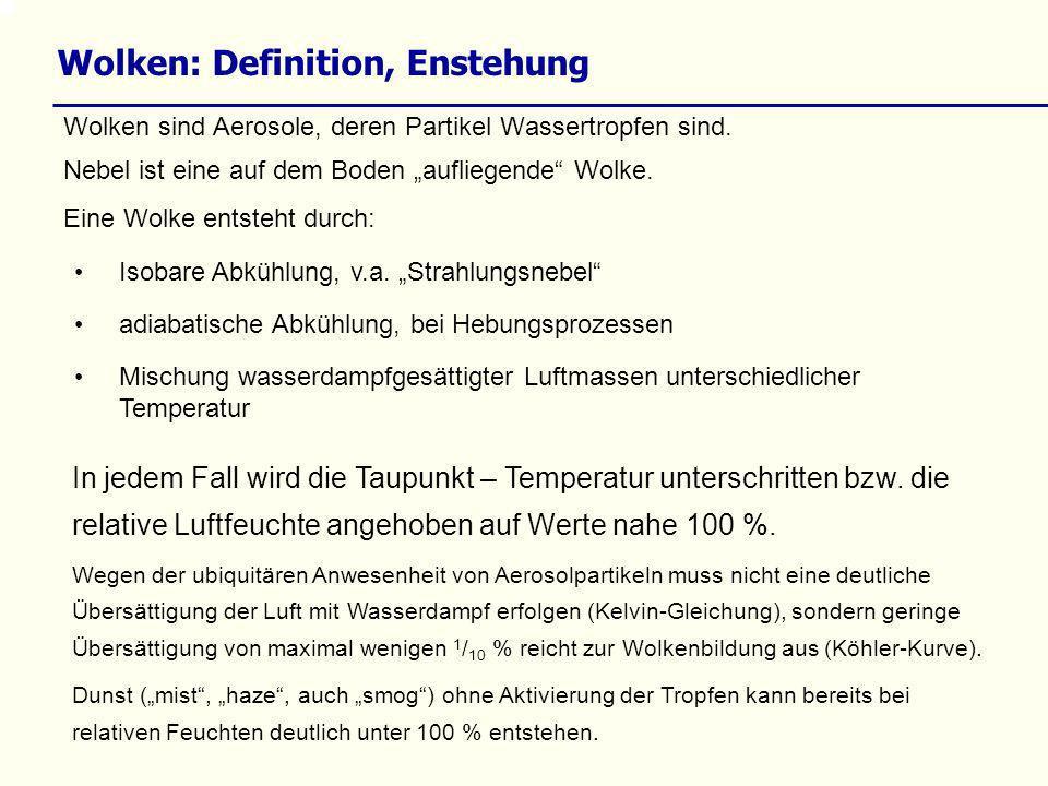 scavenging – rainout – washout washout umfasst folgende Einzelschritte: 1.