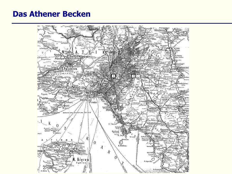 Das Athener Becken