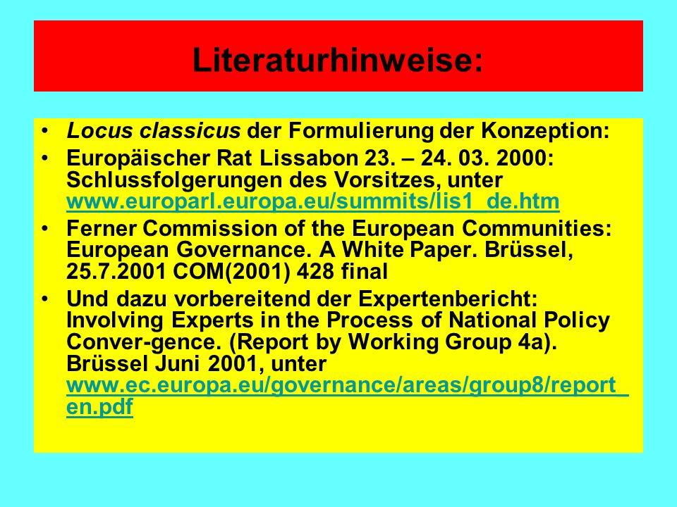 Burkard Eberlein/Dieter Kerwer: Theorising the New Modes of European Governance, in: European Integration online Papers Vol.