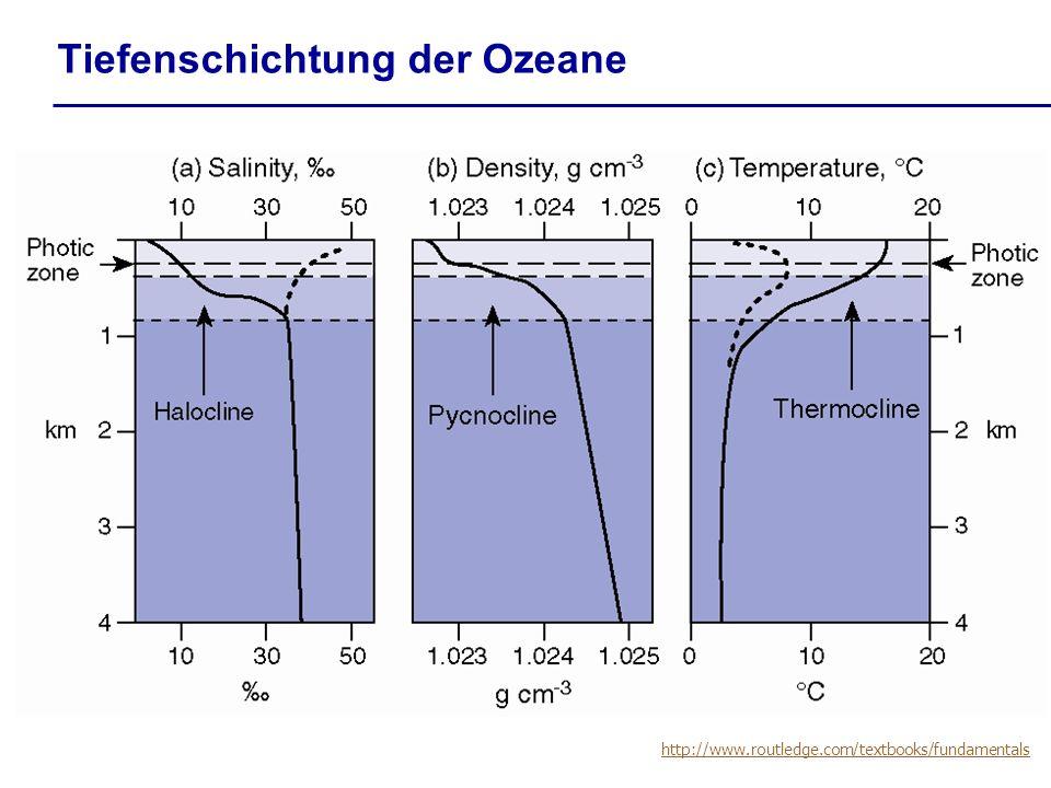 Tiefenschichtung der Ozeane http://www.routledge.com/textbooks/fundamentals