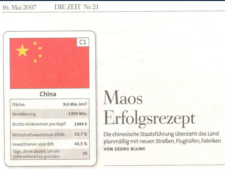 5China Chinesisch: Zhonghua Renmin Gongheguo Deutsch: Volksrepublik China Englisch: People s Republic of China Hauptstadt: Beijing (Peking), 11,2 Mio.