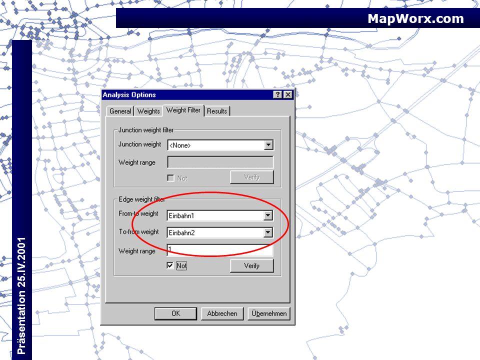 MapWorx.com Präsentation 25.IV.2001