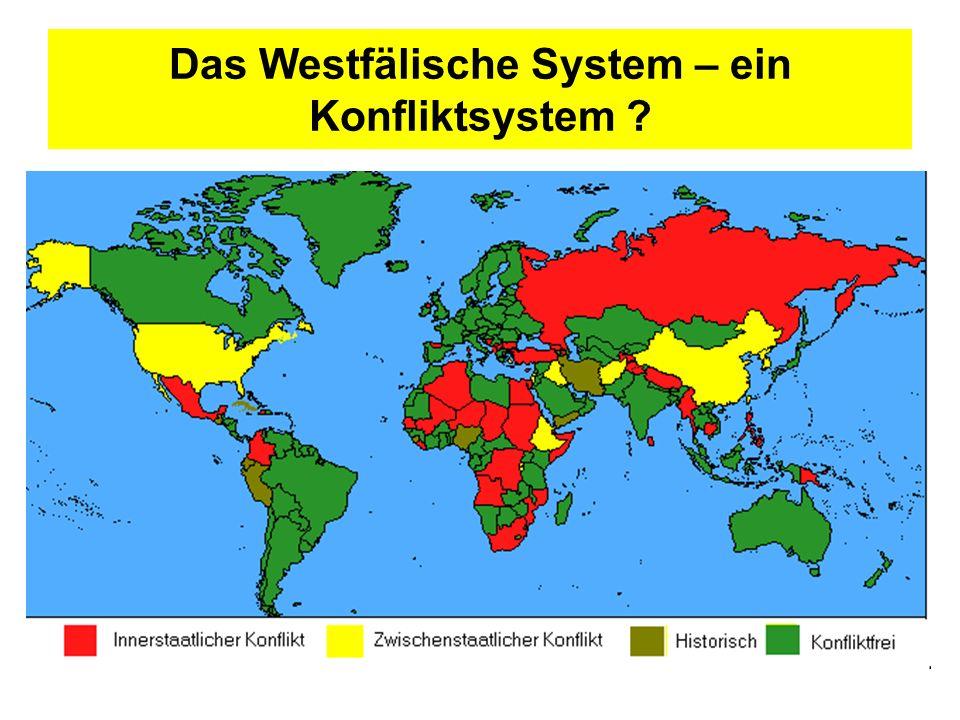 Das Westfälische System – ein Konfliktsystem ?