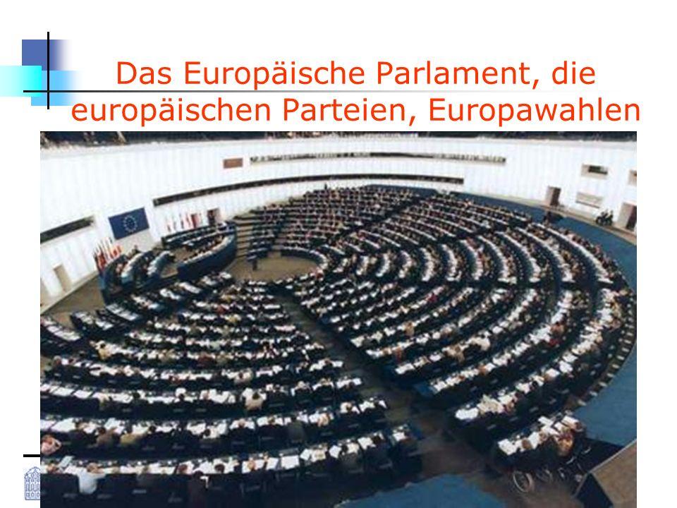 Westfälische Wilhelms-Universität Münster Kai Pfundheller M.A., Standardkurs EU, 27.05.2008 1 Das Europäische Parlament, die europäischen Parteien, Europawahlen