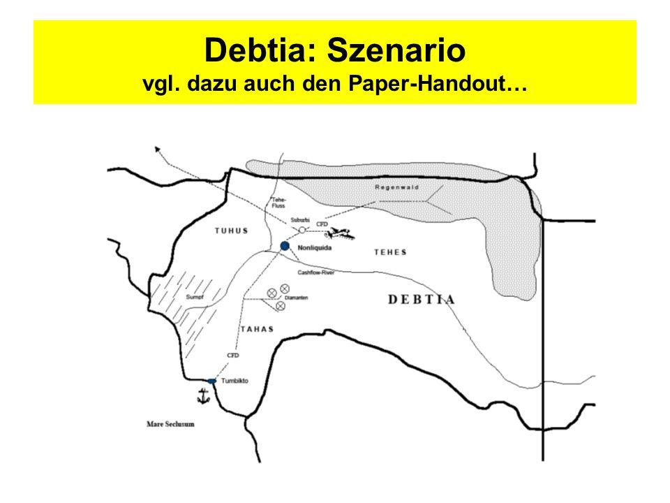 Debtia: Szenario vgl. dazu auch den Paper-Handout…