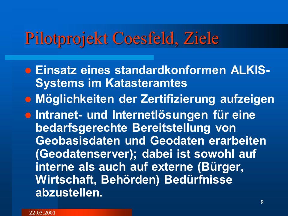22.05.2001 19 ÖBVIBauenUmwelt Vermessung/ Kataster Notar...