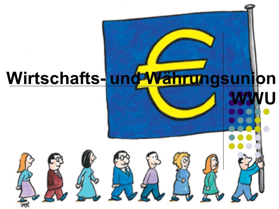 22 Weitere Etappen zum Euro 1994: Das Europäische Wirtschaftinstitut wird gegründet, und neue Verfahren zur Überwachung der Volkswirtschaften der EU-Länder sowie zur Förderung ihrer Konvergenz werden eingeführt 1997: Der Stabilitäts- und Wachstumspakt 1998: Elf Länder qualifizieren sich für den Euro 1999: Die Geburt des Euro (erster Wechselkurs des Euro notiert am 4.