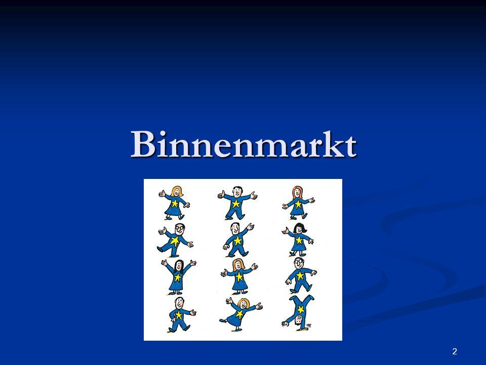 2 Binnenmarkt