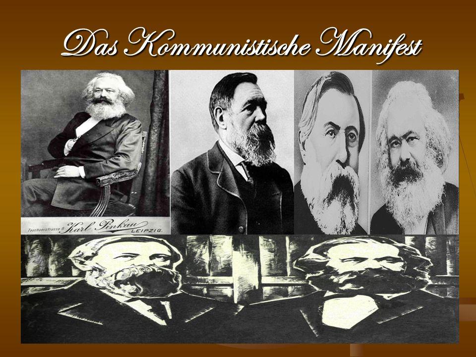 Karl Marx Am 5.Mai 1818 in Trier geboren und am 14.