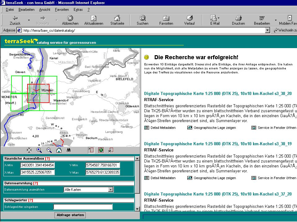 CC GIS Fachtagung, Münster... connecting worlds Web-based Geoservices