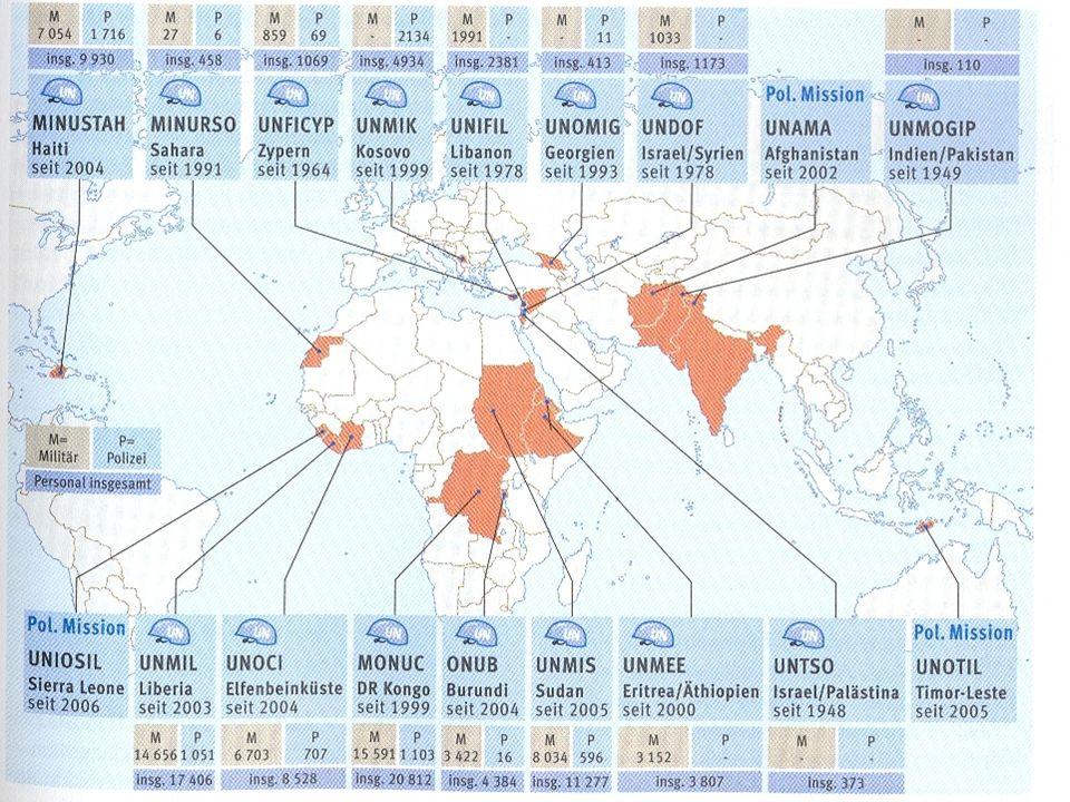 Die UNO & die USA Scheitern des New Yorker Reformgipfels im September 2005 Scheitern des New Yorker Reformgipfels im September 2005 Der hegemoniale Anspruch der USA ist ein Hindernis für die UNO sich zu erneuern und ihre internationale Rolle aufzuwerten Der hegemoniale Anspruch der USA ist ein Hindernis für die UNO sich zu erneuern und ihre internationale Rolle aufzuwerten UN-Sicherheitsrat legitimierte den Angriff der USA auf den Irak nicht UN-Sicherheitsrat legitimierte den Angriff der USA auf den Irak nicht 2005 ernannte Bush einen Falken des Irakkriegs, John Bolton, zum UN-Botschafter 2005 ernannte Bush einen Falken des Irakkriegs, John Bolton, zum UN-Botschafter