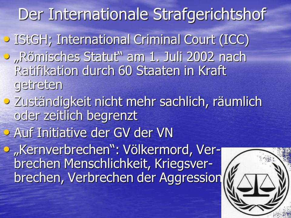 ICC-Mitgliedsstaaten Bis zum 1.
