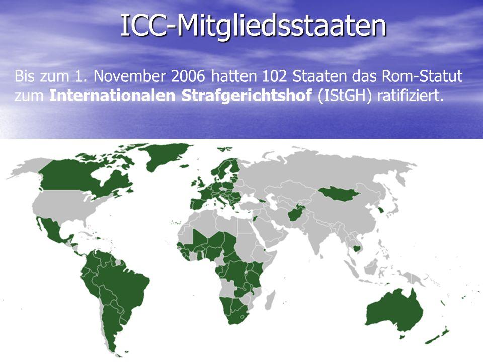 Das Gebäude des ICC in Den Haag Das Gebäude des ICC in Den Haag