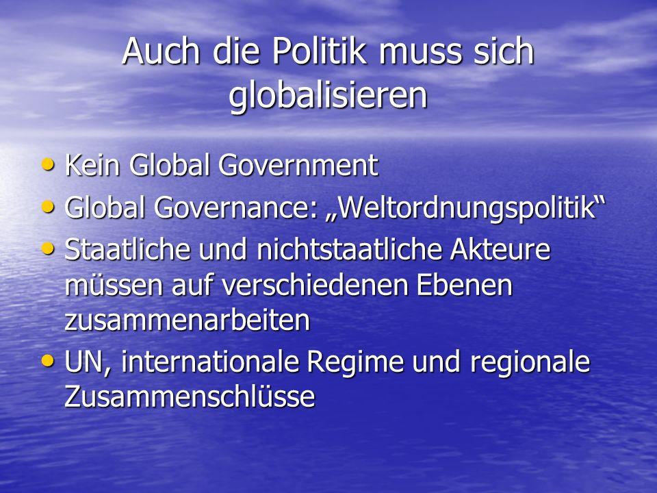 1.Neudefinition staatlicher Souveränität 2.