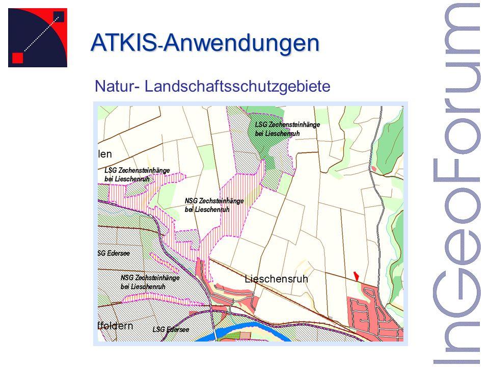 Natur- Landschaftsschutzgebiete ATKIS - Anwendungen