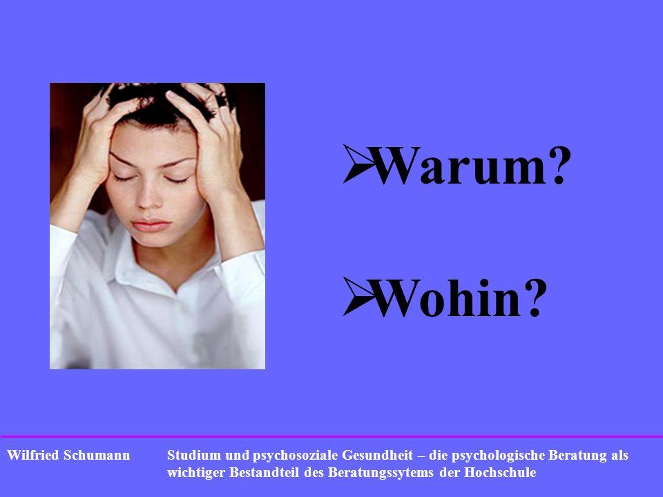 Wilfried Schumann Warum? Wohin?