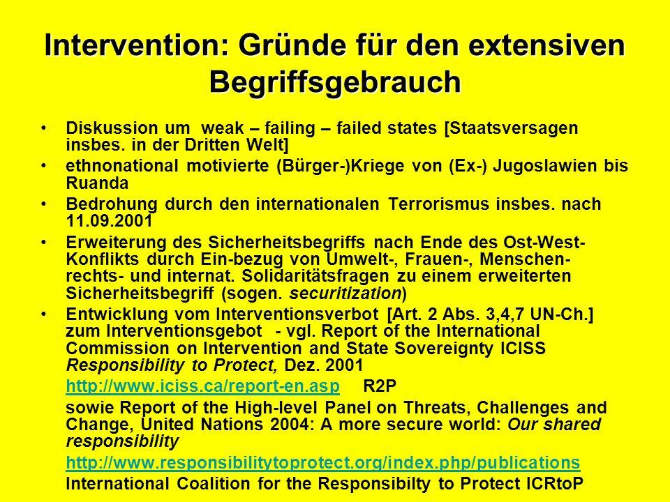 Intervention: Diskussionskontext Agenda für den Frieden 1992.