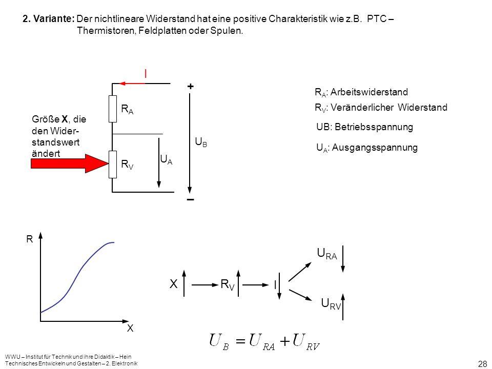 WWU – Institut für Technik und ihre Didaktik – Hein Technisches Entwickeln und Gestalten – 2. Elektronik 27