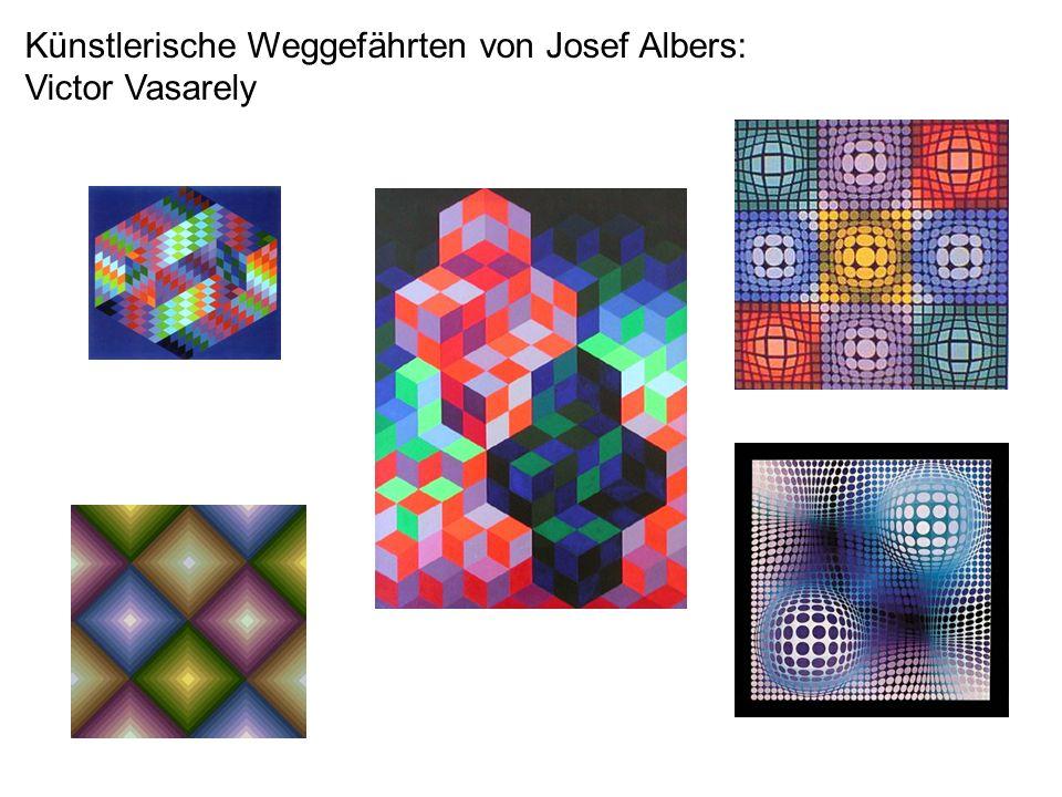 Künstlerische Weggefährten von Josef Albers: Victor Vasarely
