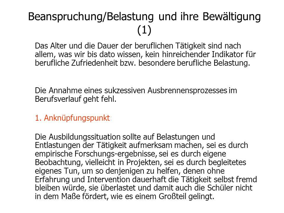 Zwischenbilanz: STUBUR Die Oserschen Standardgruppen in ihrer Verarbeitungstiefe aus dem Ende des Lehramtsstudiums in der Schweiz liegen in Rostock in
