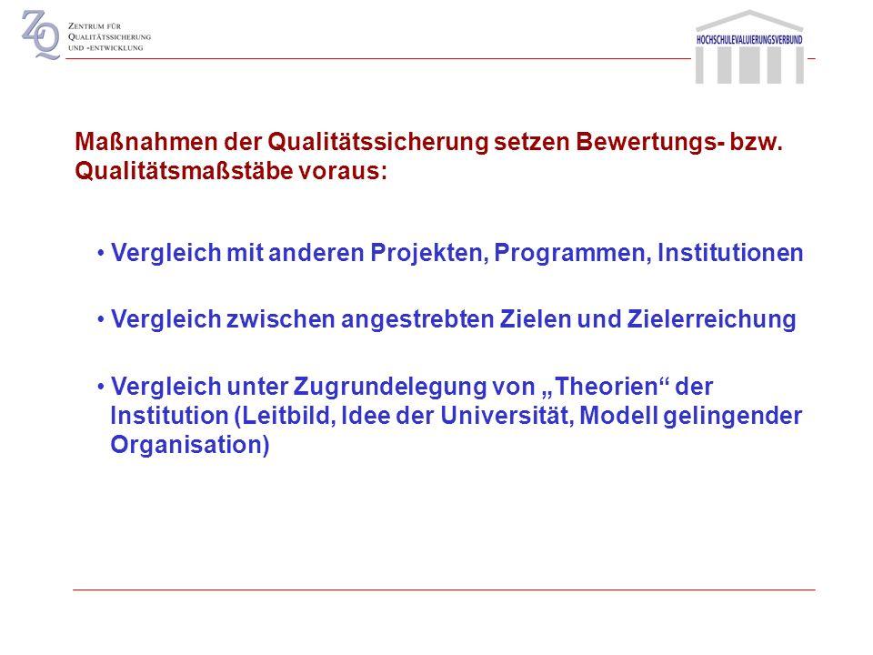 Steuerungsprämissen in Hochschulen relative Autonomie der Teilbereiche Hochschulen als Organisation und Institution relative Autonomie der Hochschulen