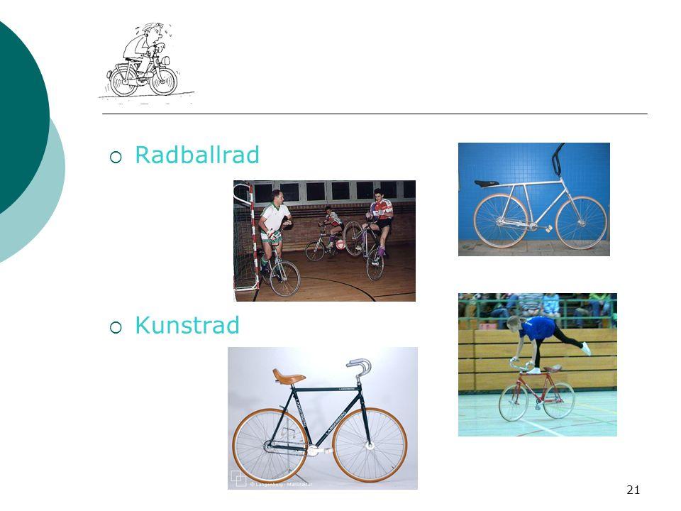 21 Radballrad Kunstrad