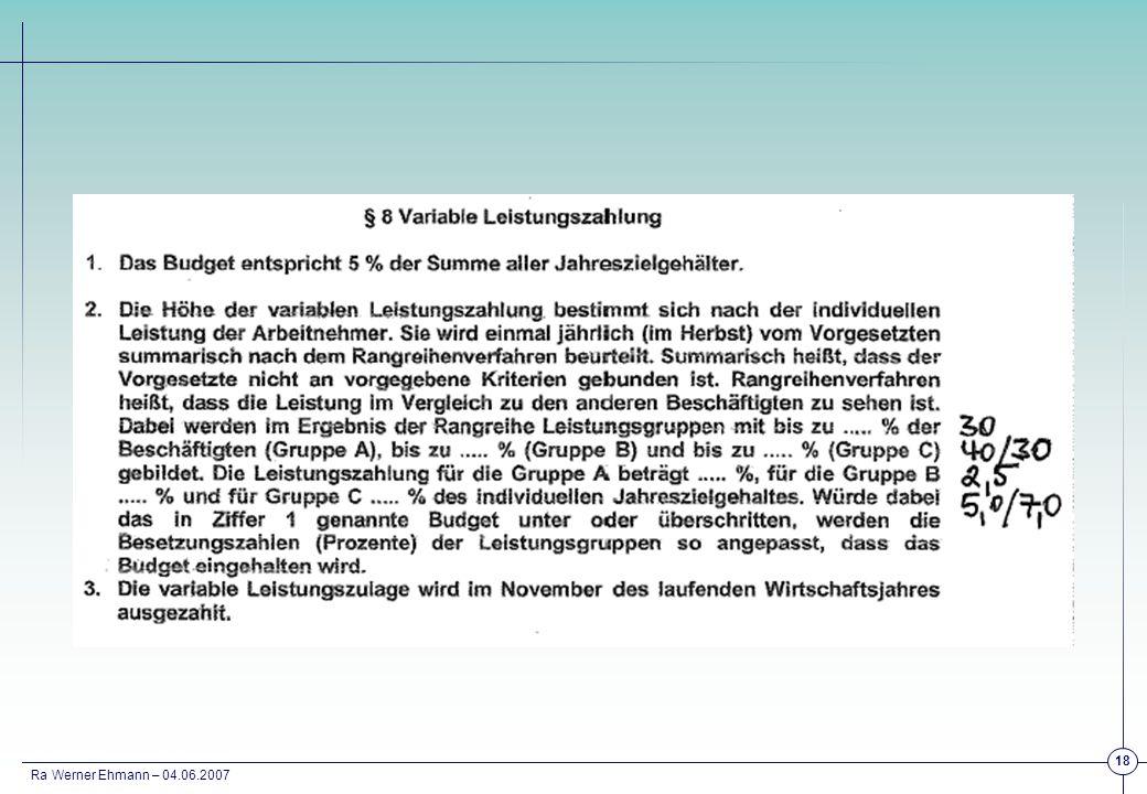 Ra Werner Ehmann – 04.06.2007 18