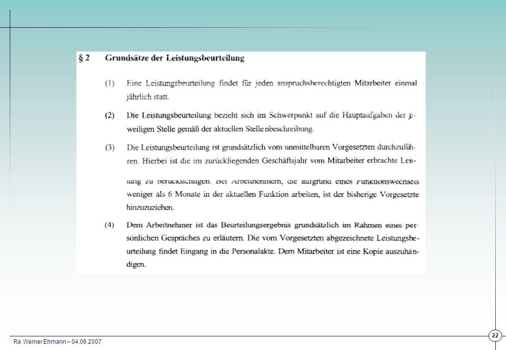 Ra Werner Ehmann – 04.06.2007 22
