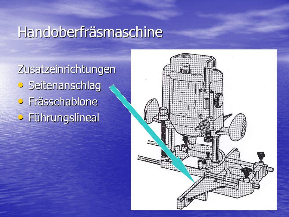 Handoberfräsmaschine Zusatzeinrichtungen Seitenanschlag Seitenanschlag Frässchablone Frässchablone Führungslineal Führungslineal B1s43 seitenanschlag