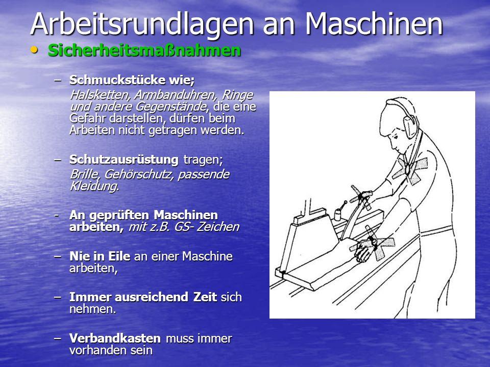 Bandsägemaschine VorbereitungVorbereitung –Vorhandenes Sägeblatt auf Eignung prüfen.