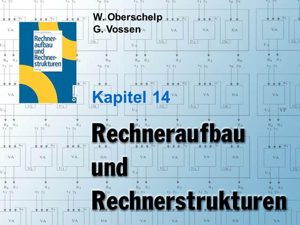 Rechneraufbau & Rechnerstrukturen, Folie 14.1 © W.