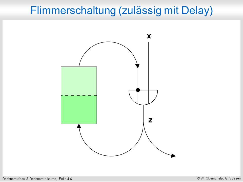 Rechneraufbau & Rechnerstrukturen, Folie 4.6 © W.Oberschelp, G.
