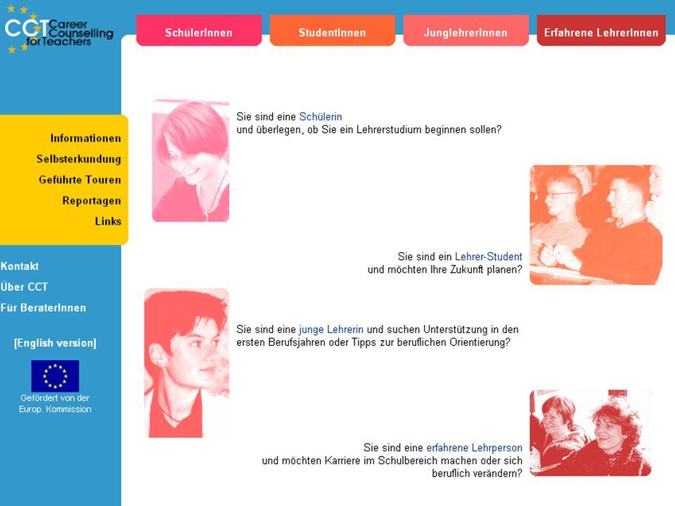 Reflexion Reflexion ID: #42 vom 2004-05-18 17:15:59 Es wäre sinnvoll diese Seite bereits vor der Entscheidung zu einem Lehrerstudium aufzurufen und sich intensiv mit der eigenen Person auseinander zu setzen.