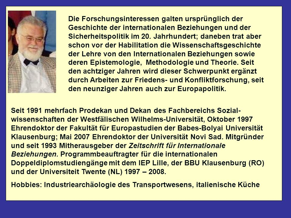 Diese Datei ist ab nächste Woche downloadbar von meiner Website http://reinhardmeyers.uni-muenster.de Dort finden Sie auch weitere Materialien zu meinen Seminaren zu den Internationalen Beziehungen und zur Friedens- und Konfliktforschung http://reinhardmeyers.uni-muenster.de/aktuelles.html Kontakt: meyersr@uni-muenster.de