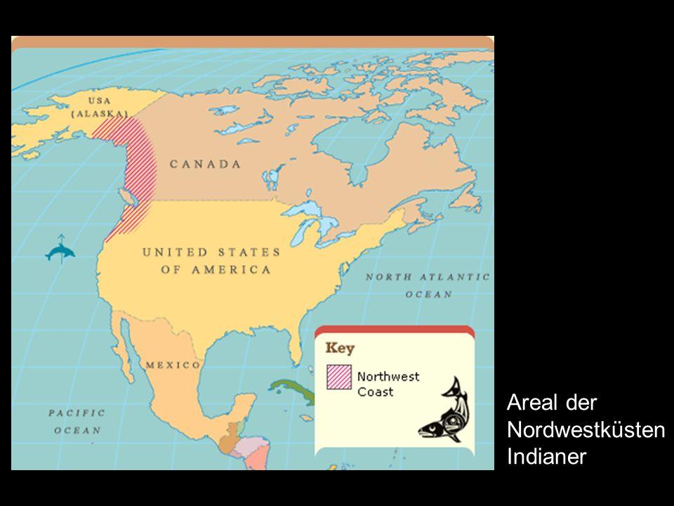 Nordamerika- Nordwestküste_119 Areal der Nordwestküsten Indianer