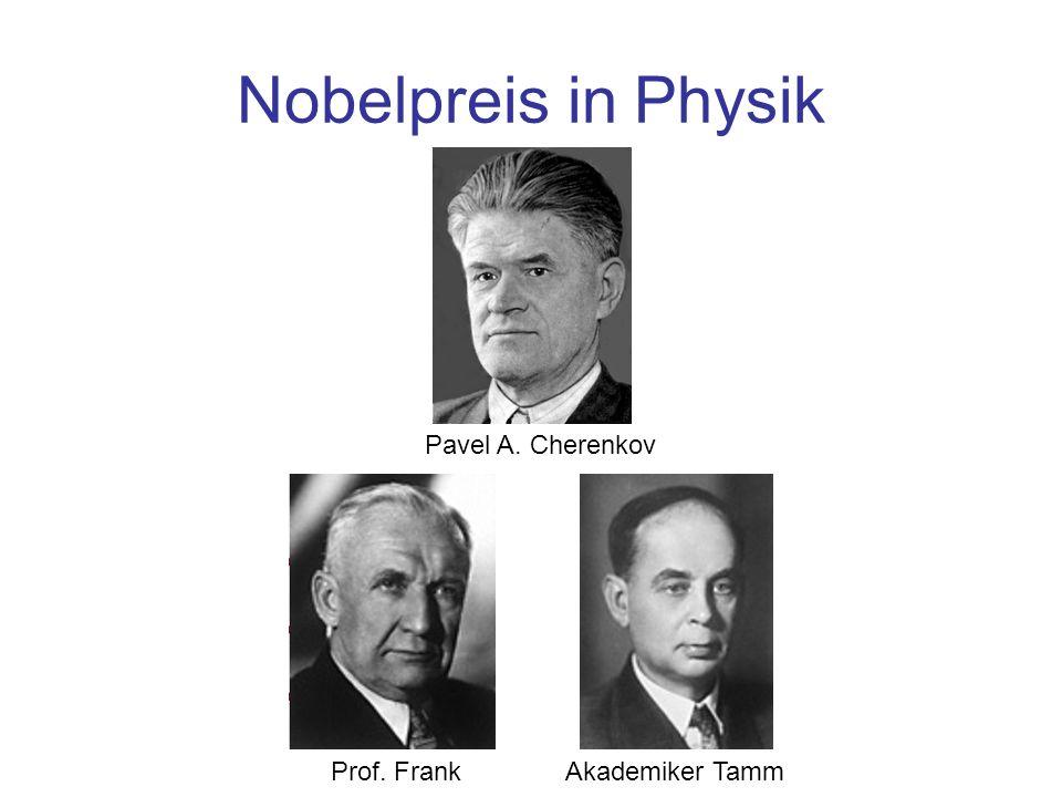 Neutrinonachweis Es handelt sich um einen indirekten Neutrinonachweis.