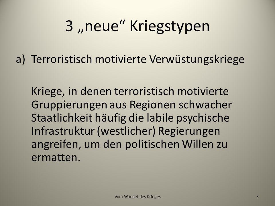 Terrorkrieg nach Münkler.
