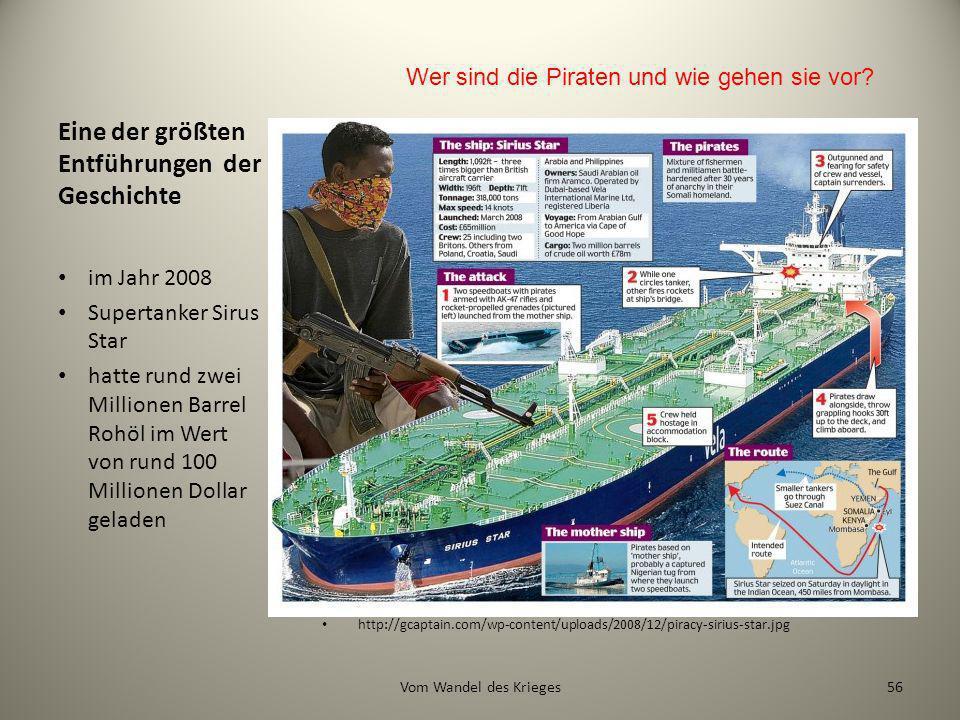 Eine der größten Entführungen der Geschichte http://gcaptain.com/wp-content/uploads/2008/12/piracy-sirius-star.jpg im Jahr 2008 Supertanker Sirus Star