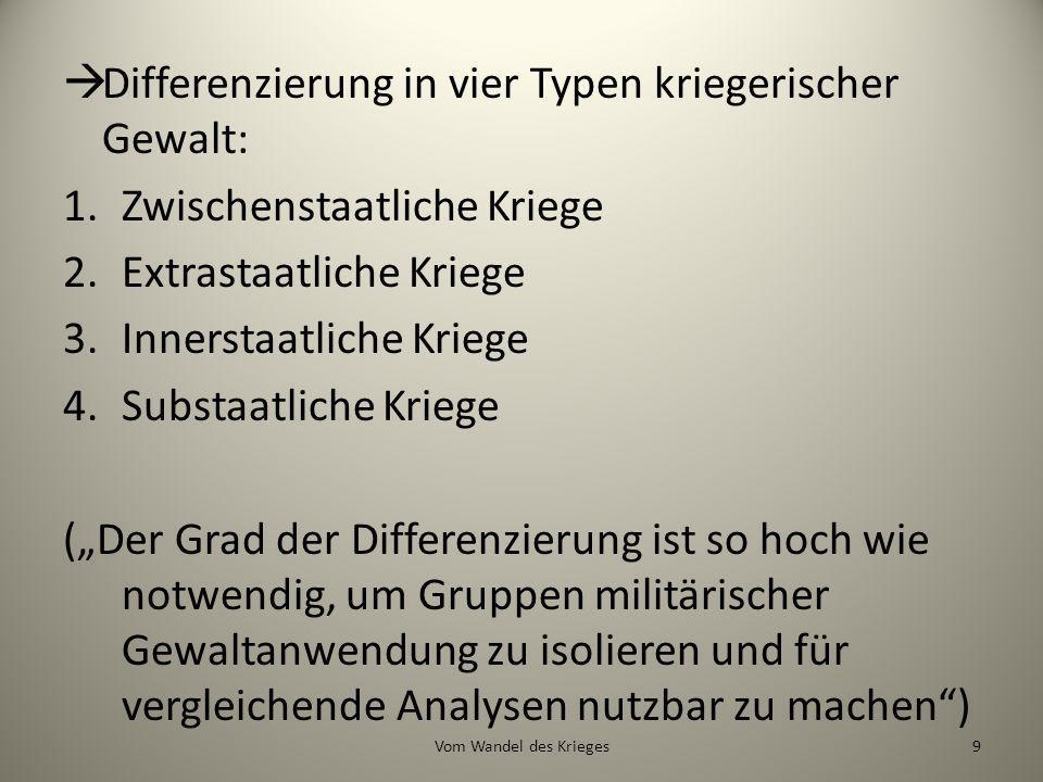 Der Handel lohnt sich Quelle: WDR (2010) 80Vom Wandel des Krieges