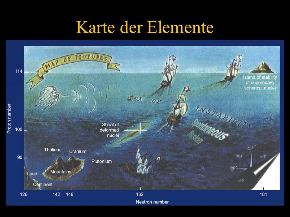 21 Karte der Elemente